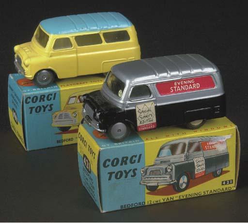 Corgi Bedford 2nd type Vans