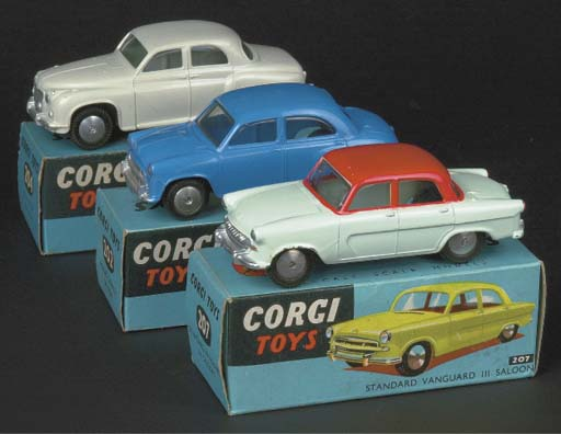 Corgi English Saloon Cars