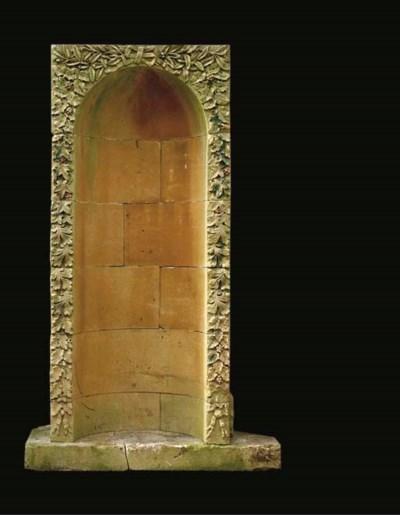 A Bath stone niche
