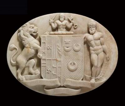 A George II statuary marble re