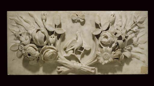 A Victorian statuary marble ch