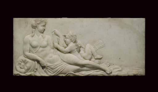 A George III statuary marble c