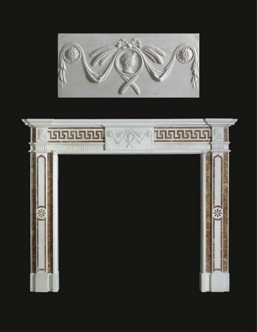 A George III Irish statuary an
