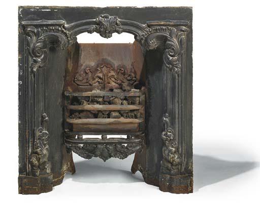 A William IV cast iron registe