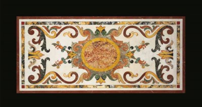 An Italian pietre dure table t