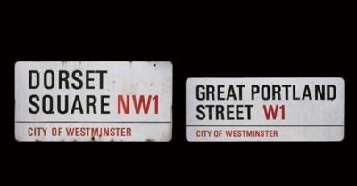 Great Portland Street W1; and