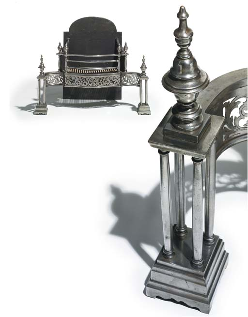 An English cast iron and steel