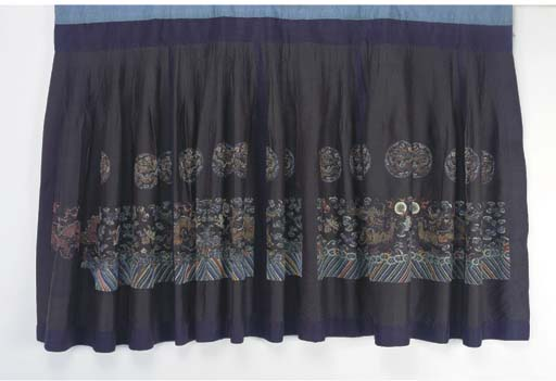 A SKIRT FROM A FORMAL CHAO FU