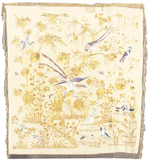 A CANTONESE EMBROIDERED EXPORT