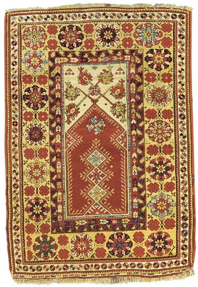 An antique Melas rug, West Ana