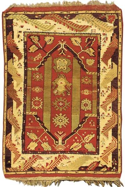 A Melas prayer rug, Turkey