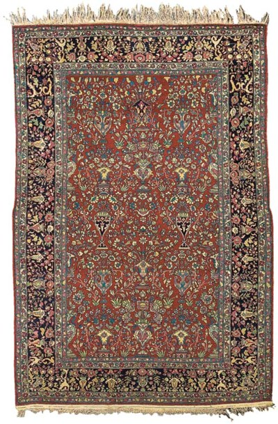 A fine pair of Teheran rugs, N