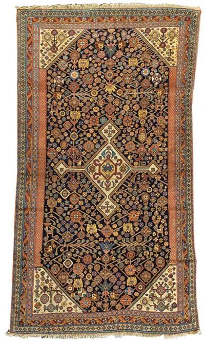 An fine antique Qashqai rug, S
