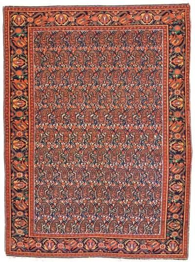 A fine antique Malayir rug, We