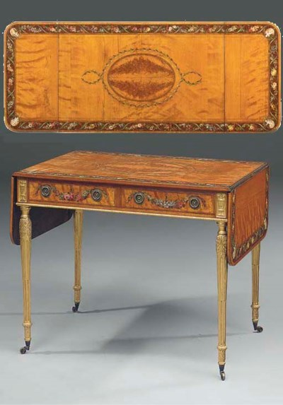 A POLYCHROME DECORATED AND PAR
