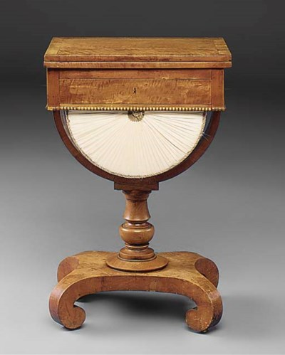 An early Victorian satinwood a