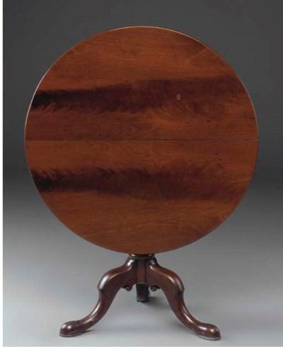 A George III mahogany tilt-top
