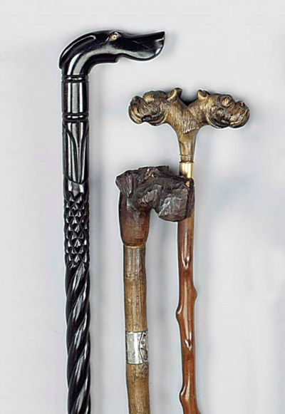 An Anglo-Indian carved ebony w