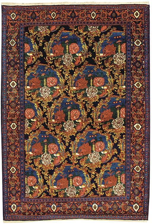 A fine Senneh rug, West Persia