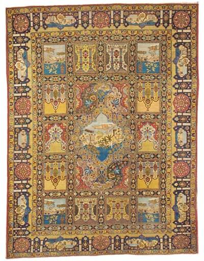 A fine Garden Tabriz carpet, N