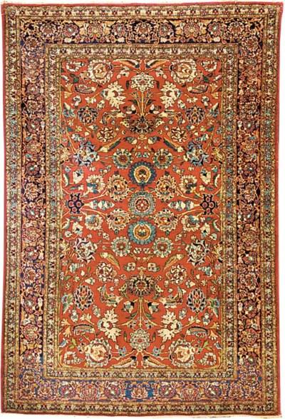 Very fine Nain Tudeshk rug, Ce