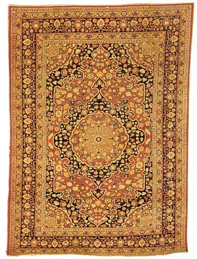 A fine antique Tabriz rug, Nor