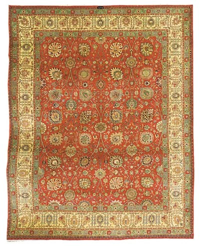 A fine Sadeghian Tabriz carpet