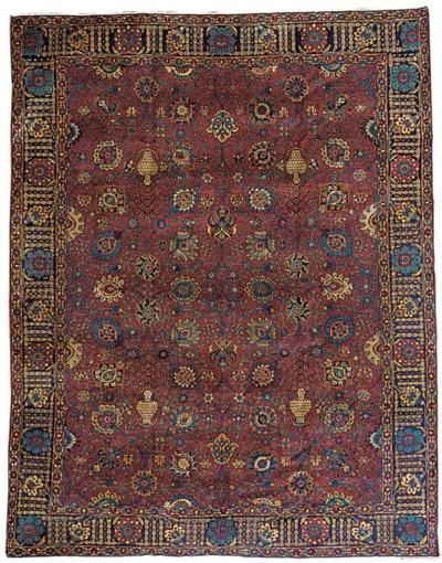 A Tabriz carpet of Shah-Abbas