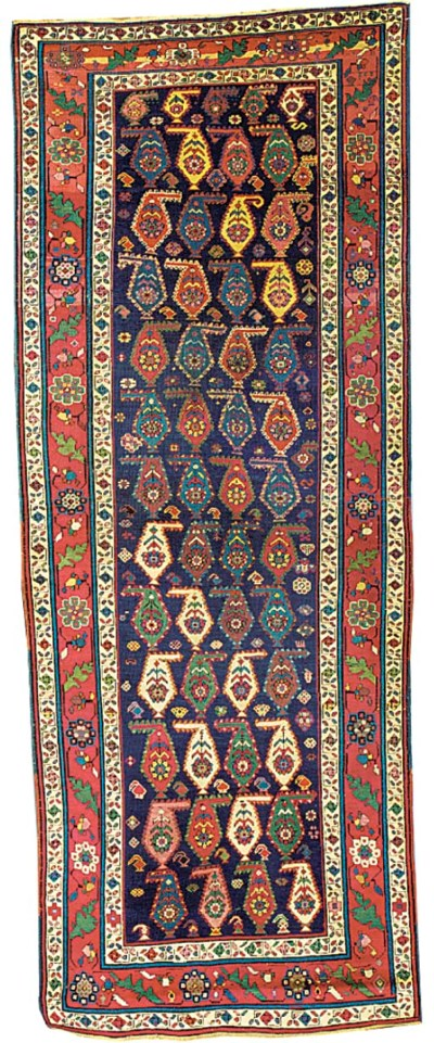 An antique Karabagh long rug,