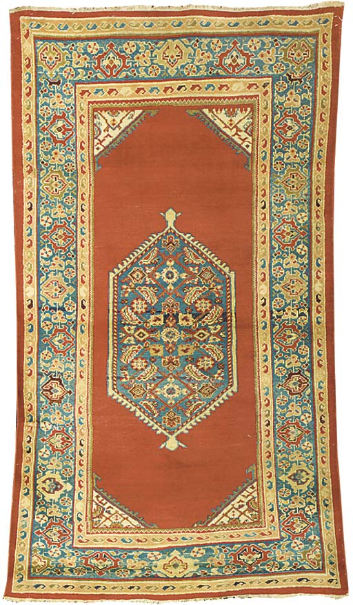An antique Sultanabad rug, West Persia