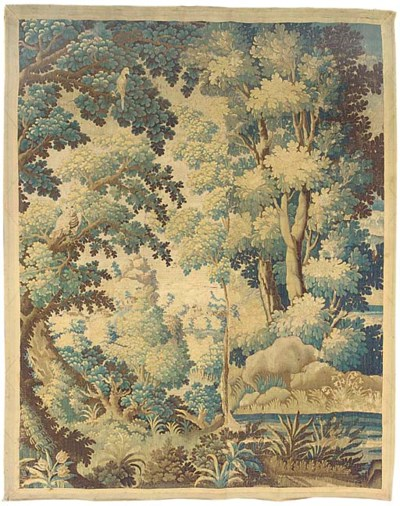 A FLEMISH VERDURE TAPESTRY