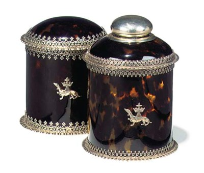 Two late victorian silver and