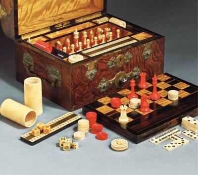 A Victorian games compendium