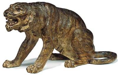 An Austrian cold-painted bronz