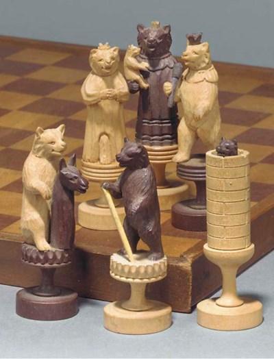 A Swiss 'bears of berne' carve