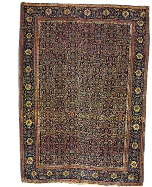A fine Senneh rug