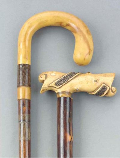 A Northern European carved ivo