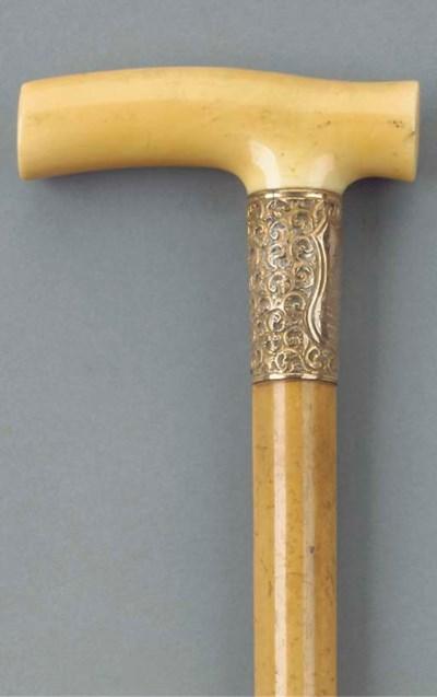 A late Victorian gilt silver a