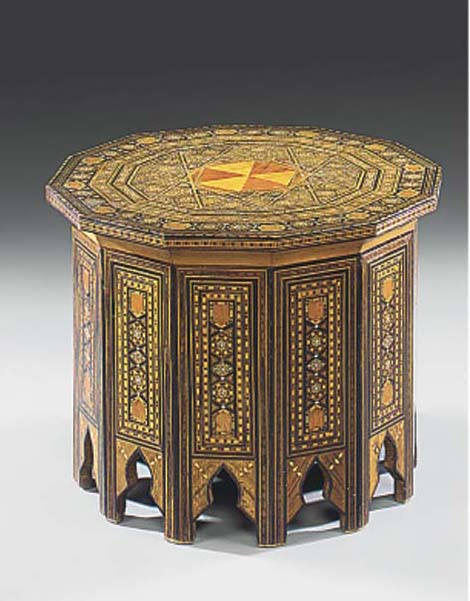 A MIDDLE EASTERN INLAID OCCASI