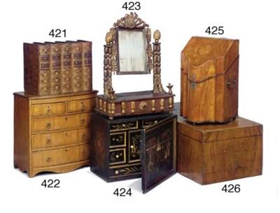 A Jerusalem olive wood box
