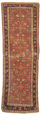 An antique Sultanabad runner