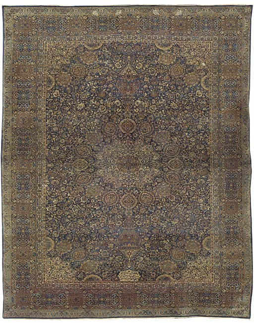 A fine Kirman carpet of Ardebi