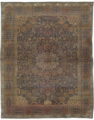 A fine Kirman carpet of Ardebi