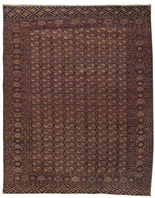 A fine Bokhara carpet