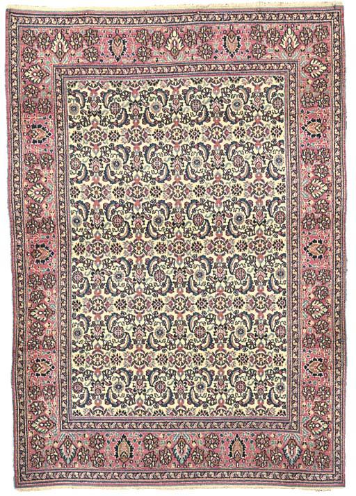 A Khorassan rug