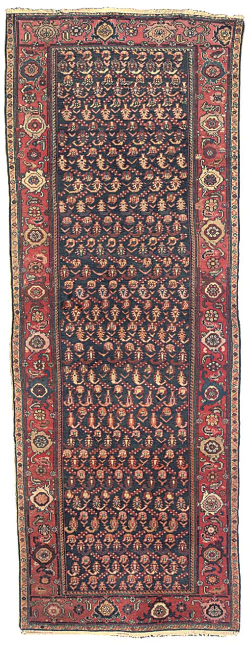 A Malayir long rug