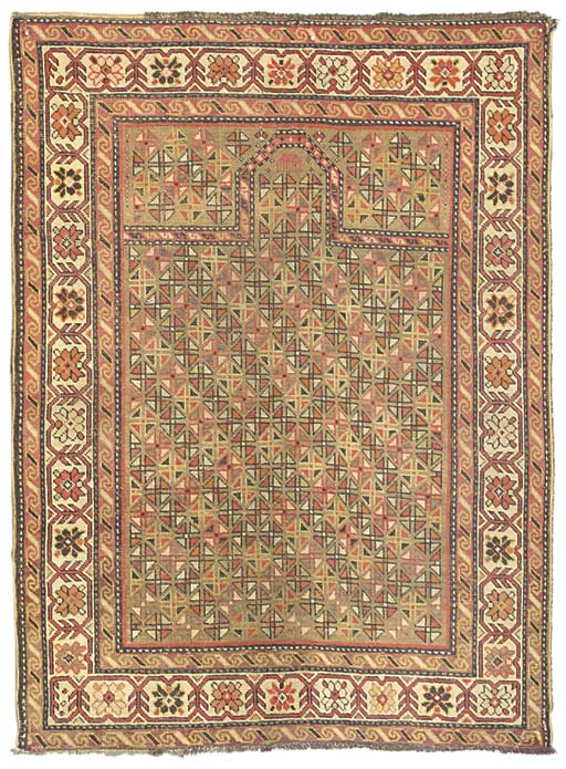 A lot of two Shirvan rugs