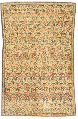 An antique senneh rug & Bokhar