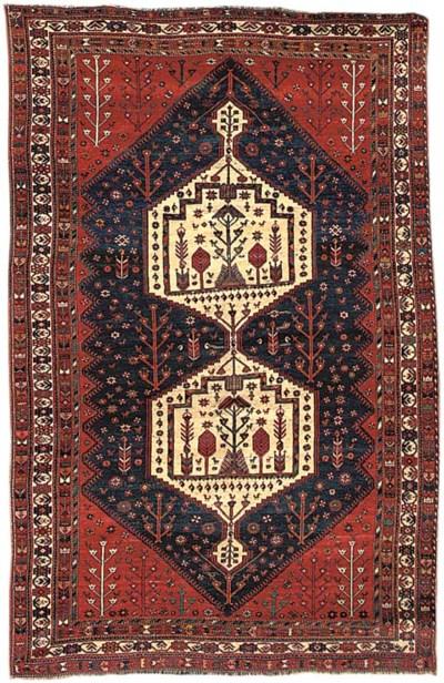 An unusual Afshar carpet, Sout