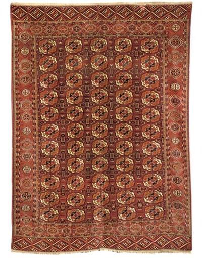 A fine Bokhara carpet, East Tu